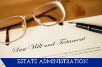 Estate Administration page link